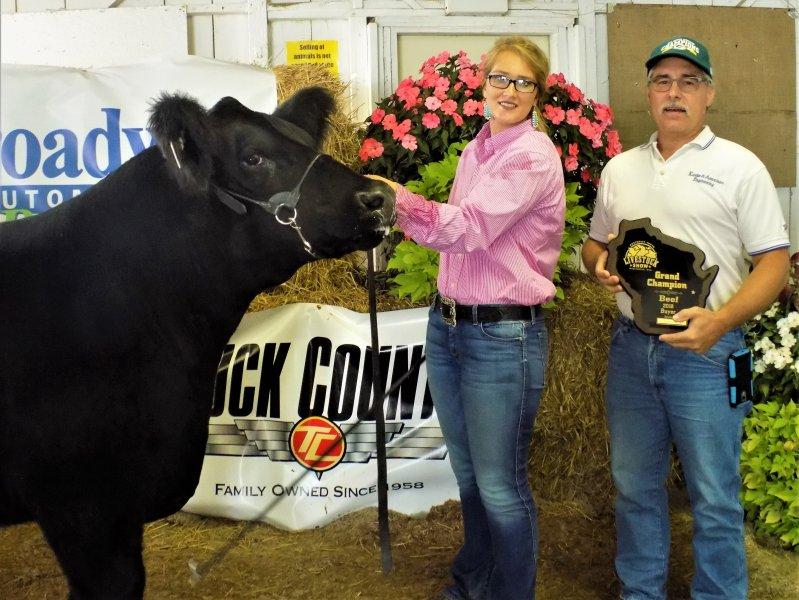 Grand Champion Market Steer - Allyson Whitcomb