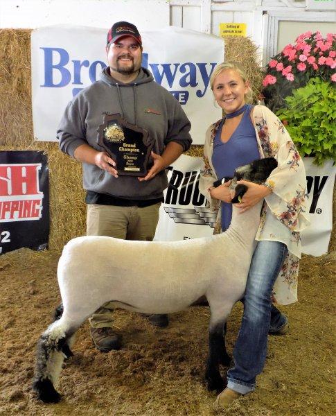 Grand Champion Lamb - Gabrielle Haen